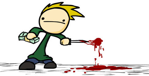 Concept Art: Tommy as murderer