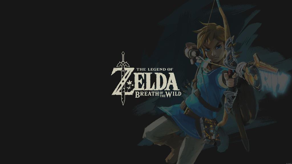 Zelda Breath of the wild Black by rmck2