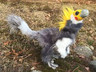 Cockatiel Raptor by felineflames