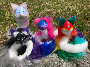 Pride Pipe Foxes