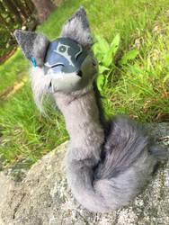Twilight Princess Inspired pipe fox spirit by felineflames