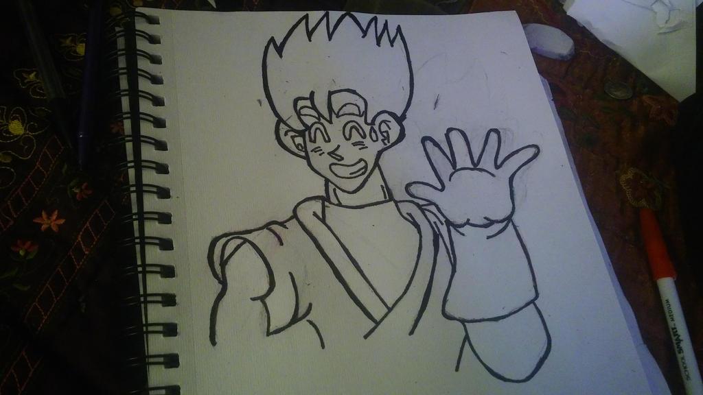 my Gohan drawing by JosephandSonicteam14