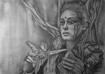 Alycia Debnam Carey (Commander Lexa) by radziczek007