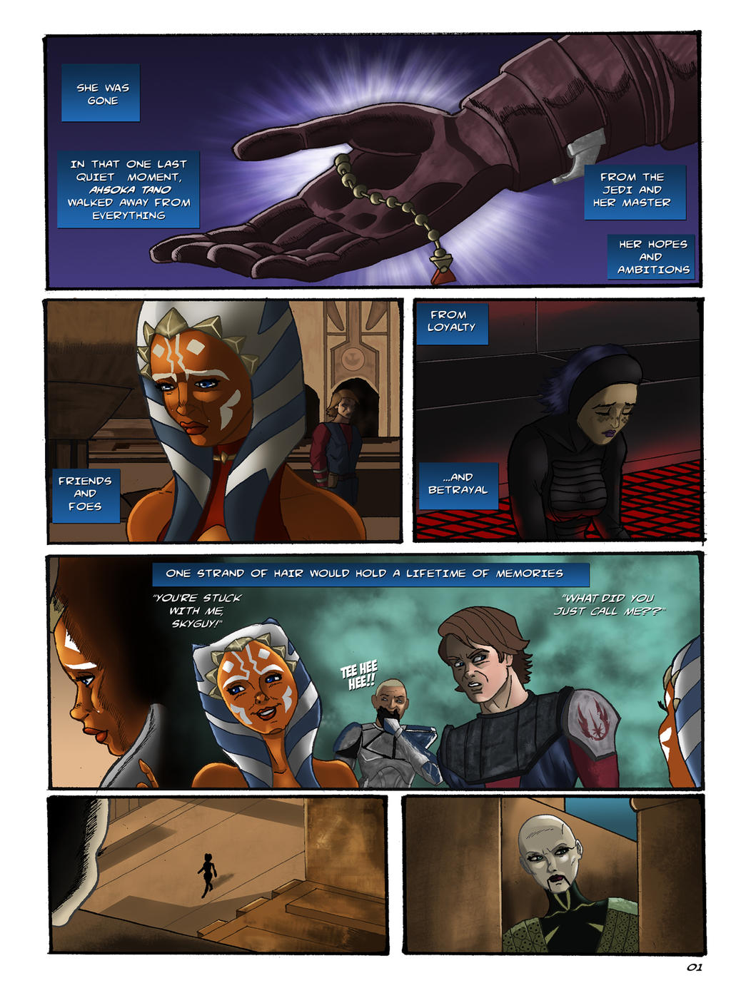 the dying of the light page 01 by liunors on DeviantArt