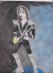 Ace Frehley Mural Concept by EmilyMoonDriftwood