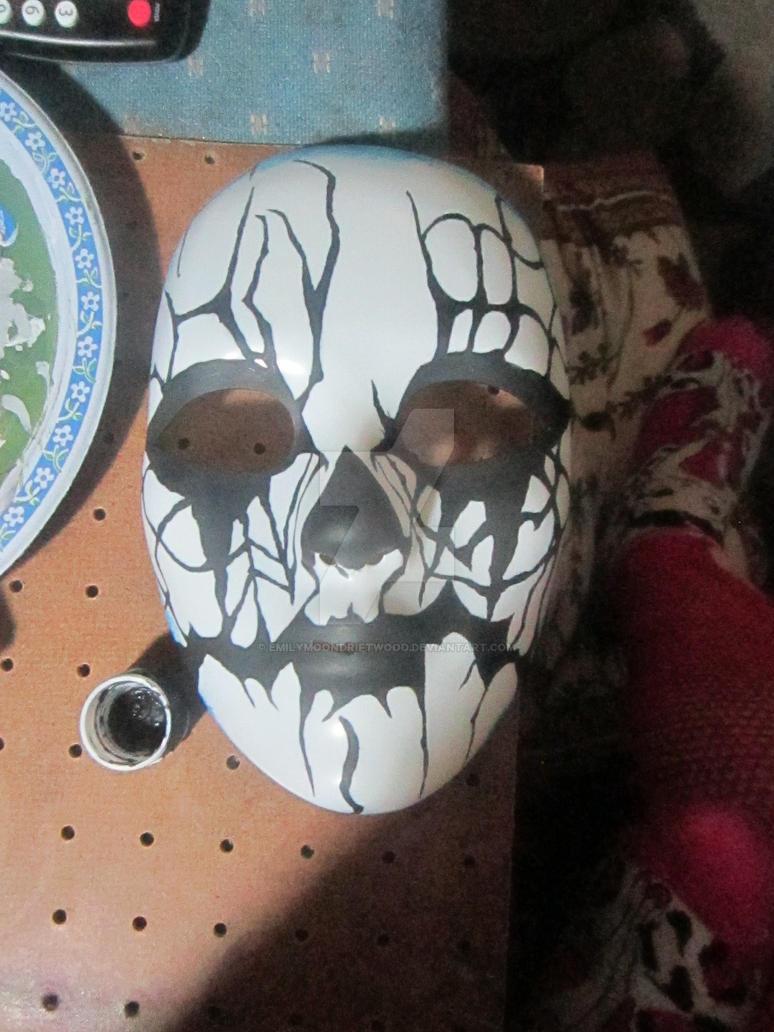 Dark Fae forest spirit mask by EmilyMoonDriftwood