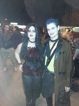 Blind Mag and Graverobber after show