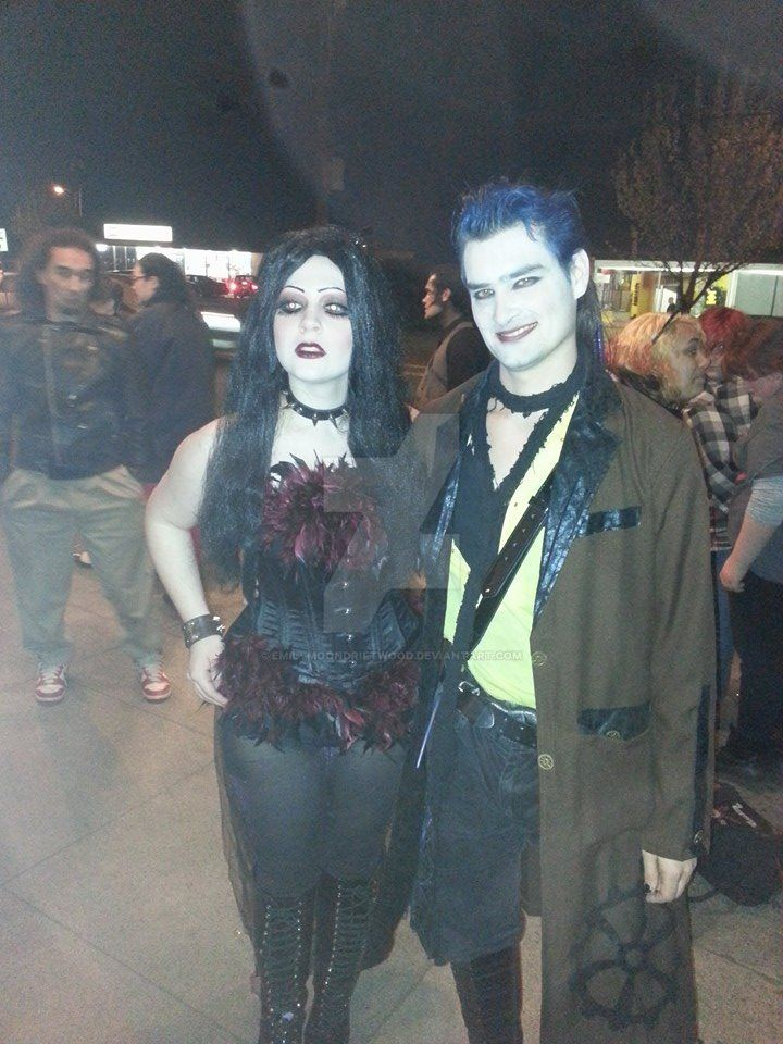 Blind Mag and Graverobber after show by EmilyMoonDriftwood