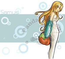 Metroid Samus by GenevieveGT