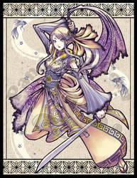 Siamese Blade Dance by GenevieveGT