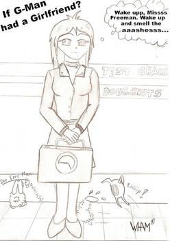Ayame sketch - Half Life