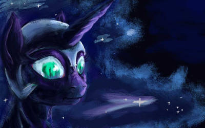 Nightmare Moon by OmGMaX