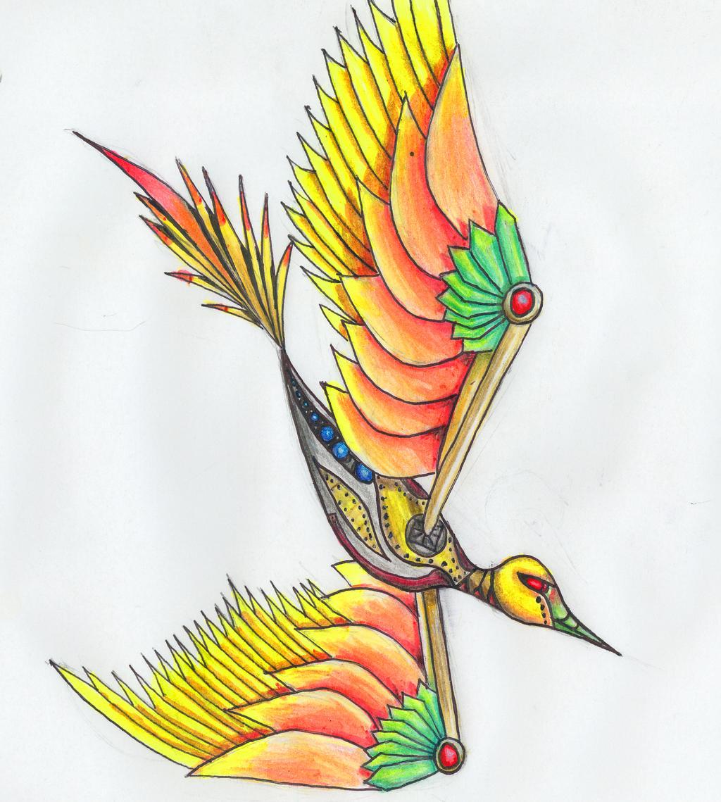 Hummingbird by Hevflynia
