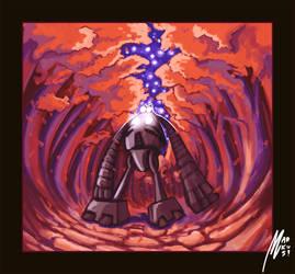 robot. by StrangeWorlds