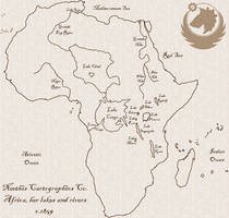 Africa, Her Lakes and Rivers by Neethis