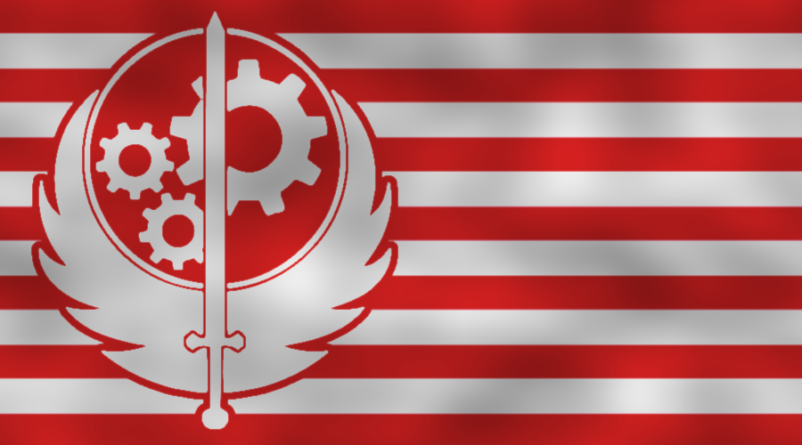 Brotherhood Of Steel - flag by Neethis