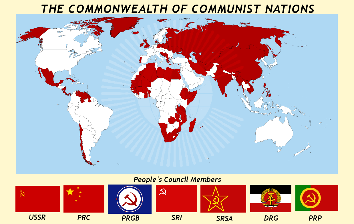 ComCom - world map by Neethis on DeviantArt
