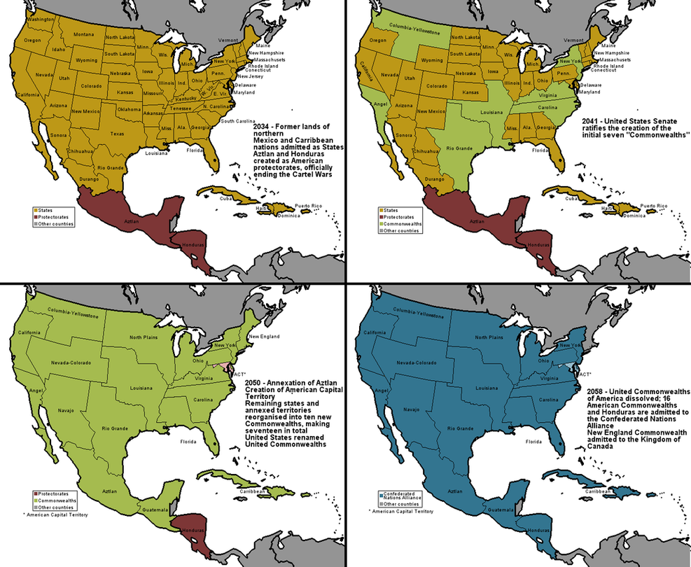 USA, 2034-2058 - GA timeline by Neethis