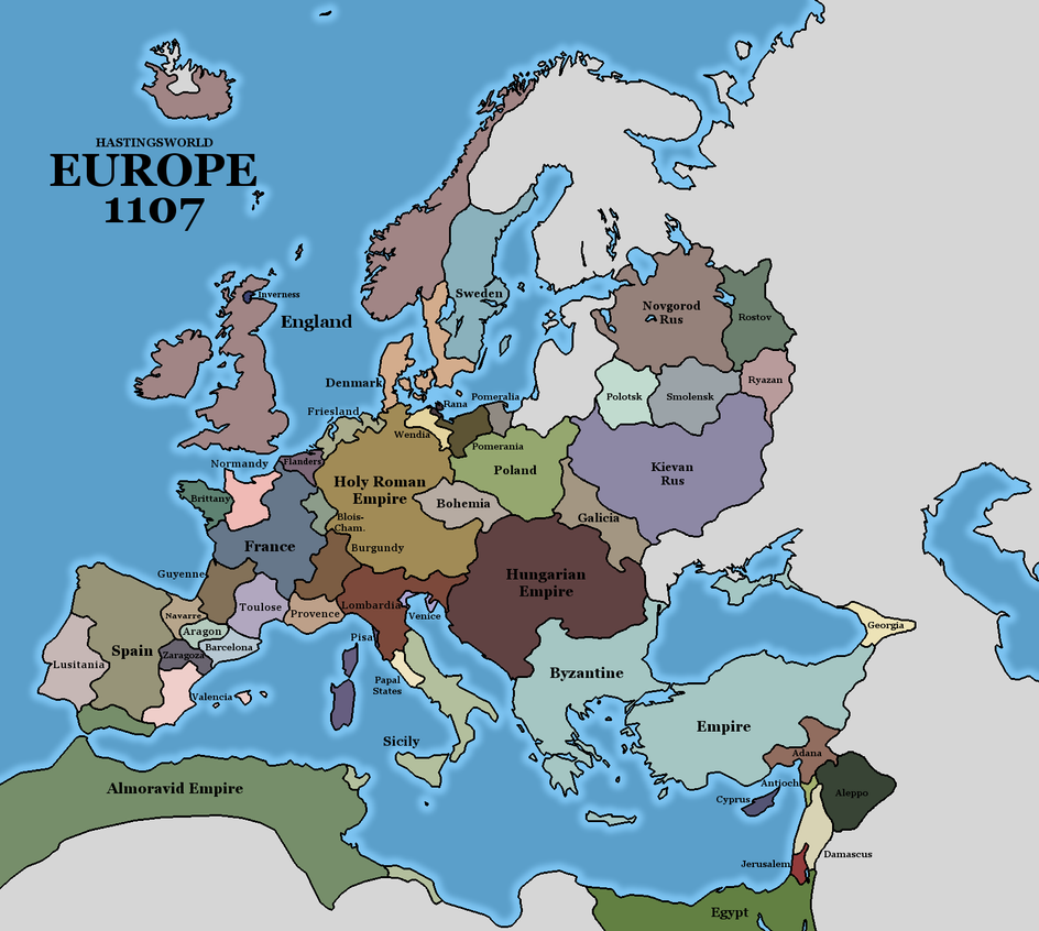 1107 In Europe