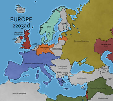 Europe - Aris Universe by Neethis