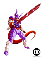 Super Janemba DBZ Dokkan Battle Render by BillyZar