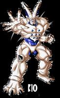 Omega Shenron DBGT Dokkan Battle Render by BillyZar