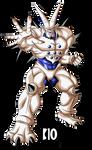 Omega Shenron DBGT Dokkan Battle Render