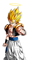 Super Gogeta DBZ Dokkan Battle Render