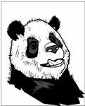 MS Paint Panda
