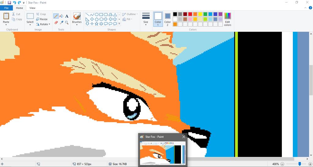 Star Fox prt sc by illahstrait