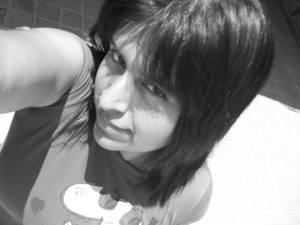 me black n white