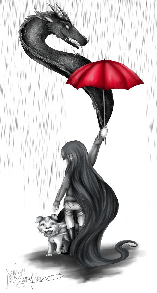 When it Rains by Nunafish