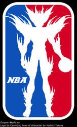 NBA logo with Alkanphel