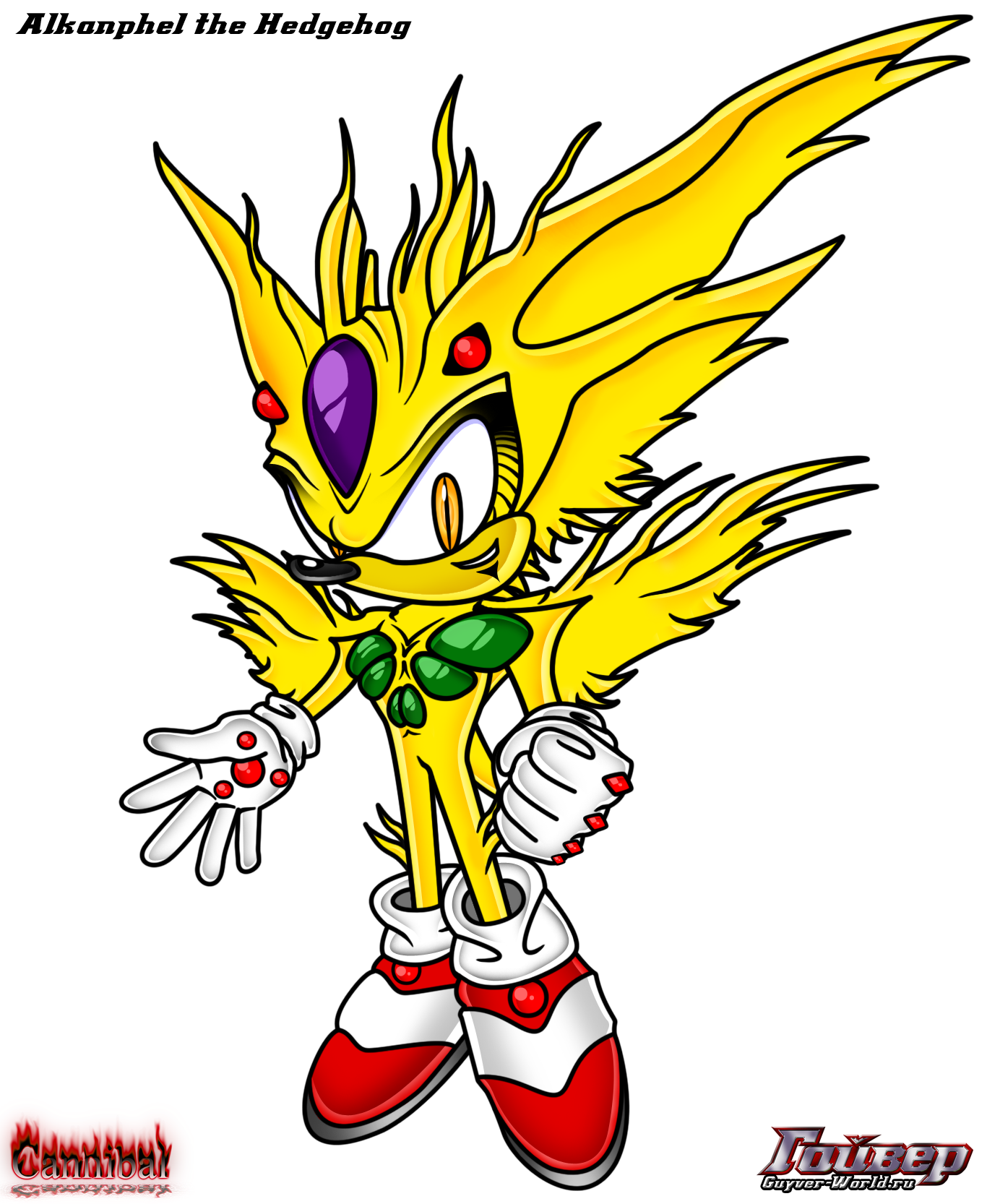 zoalord alkanphel the hedgehog by cannibalhypertails on