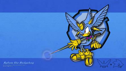 Aptom the Hedgehog. Sonic Guyver crossover.