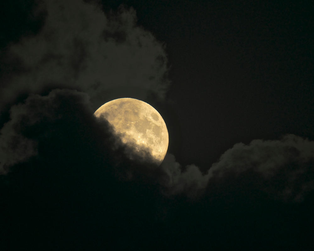 Cornwall Super Moon 10th Aug 2014 by avalonmoon13