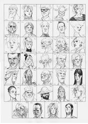 Heads 749-782 by one-thousand-heads