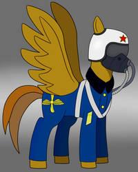 Pegasus Communist by redcube12
