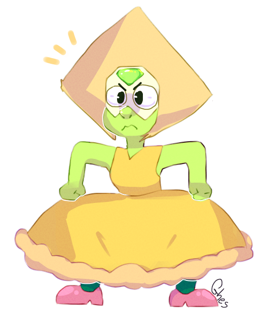 peridot wearing a dress is love heLL YES. <3