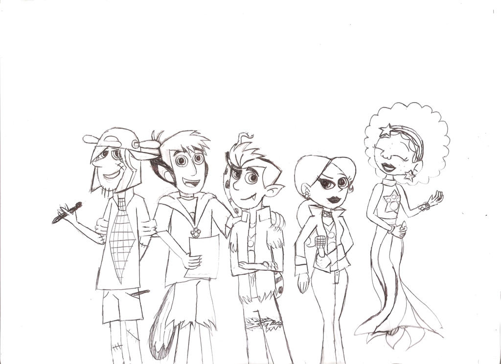 naked brothers band coloring pages - photo #4