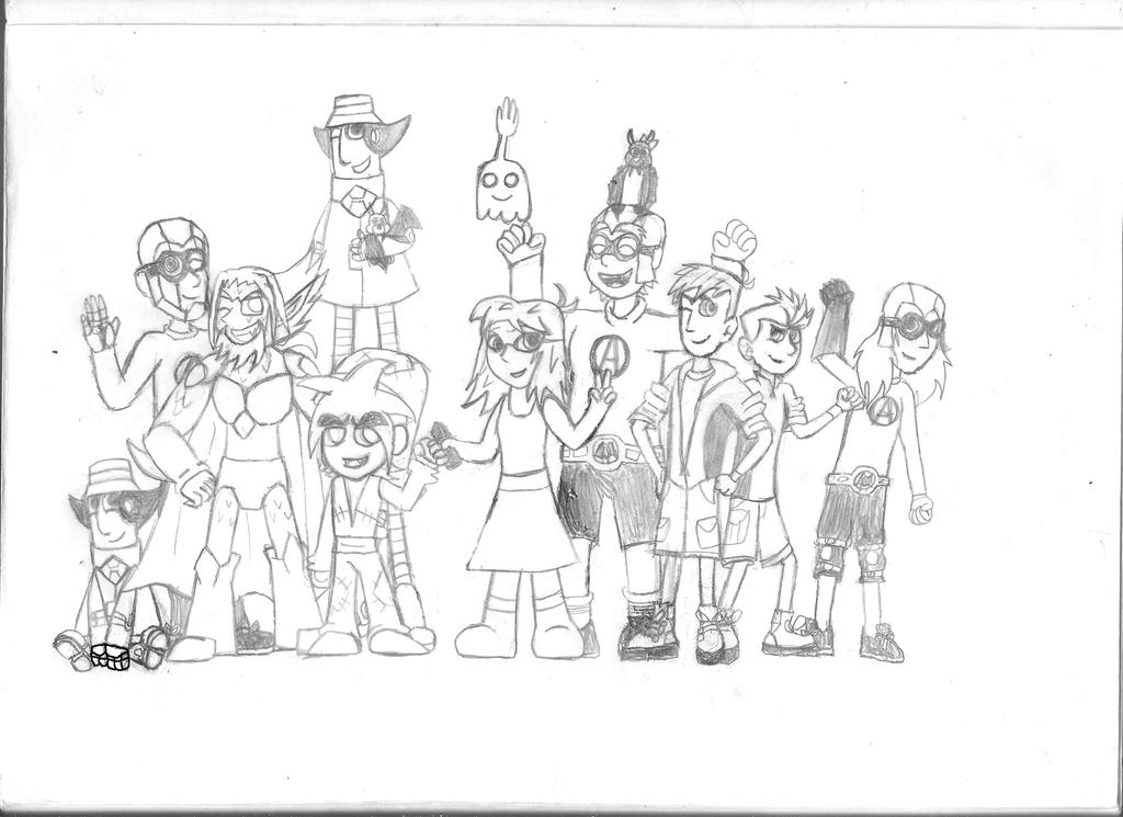 aquabats coloring pages - photo#20
