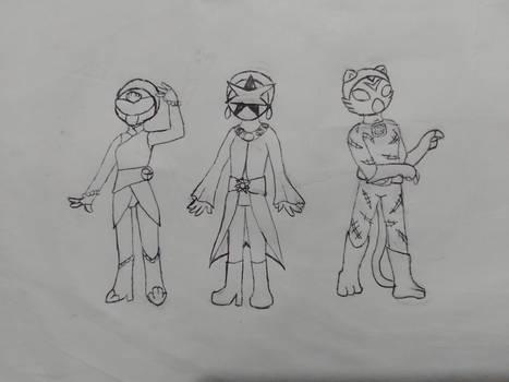 Kamen Rider Wicca: The Riders