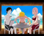Naruto, Sakura, Sai: Summer