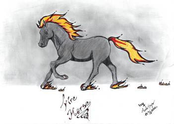 Fire Horse by Martusia-Nina
