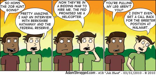Job Hunt by AdamShrugged