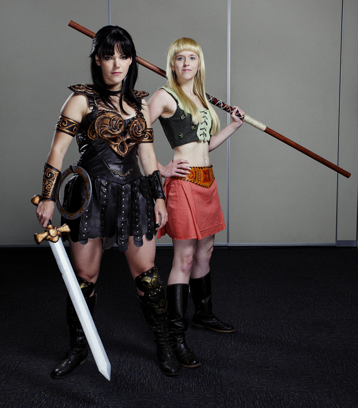 Xena and gabrielle by echoing artemis on deviantart xena and gabrielle by echoing artemis solutioingenieria Choice Image