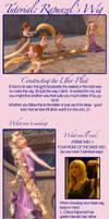 Rapunzel's Wig Tutorial 1