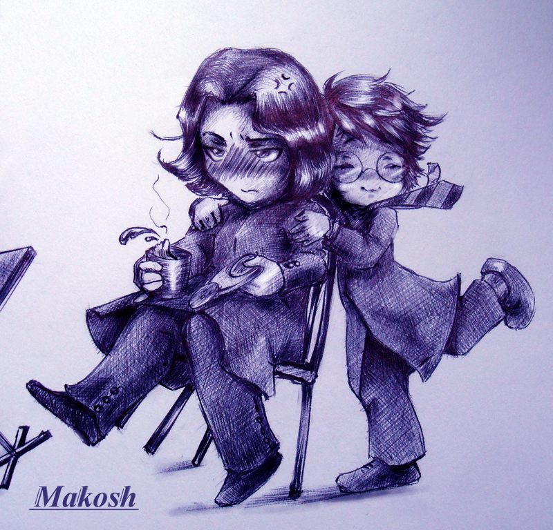 Beloved professor by Ma-kosh
