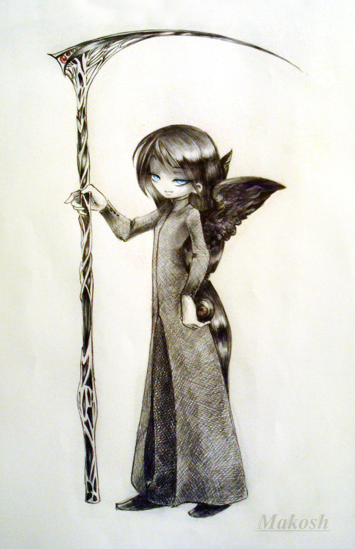 angel of death drawings