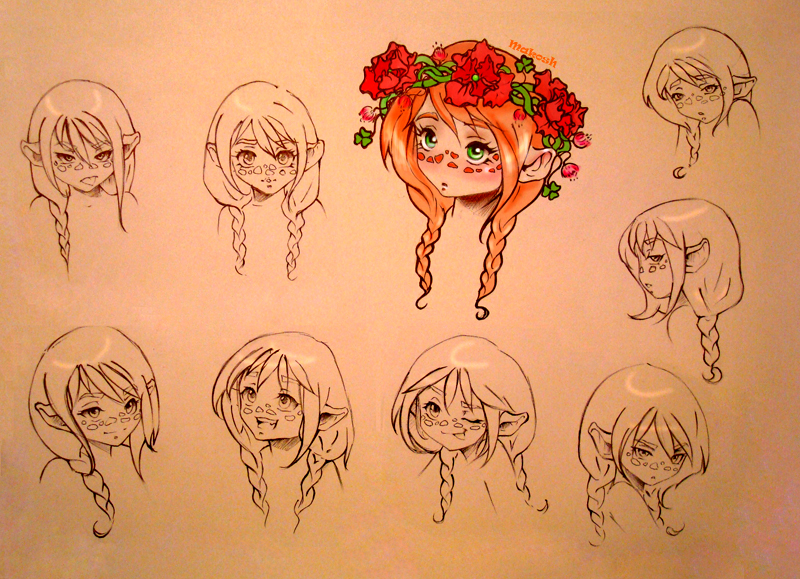 Dwarf Girl by Ma-kosh